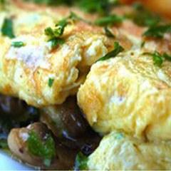 Mushroom Omolette